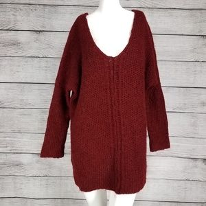 Anthropologie Moth  Sweater Oversized Pullover M